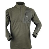 Hunters Element Ascend Micro Fleece Hunting Top Frost Green