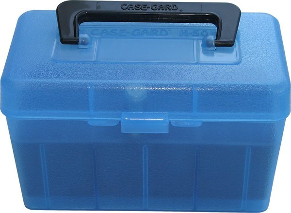 MTM Case Guard 50 Round Deluxe Ammo Box Holds 30/06-45