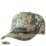 Hunters Element Heat Beater Cap Desolve Bare Camo Blue Stag