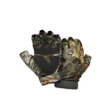 Spika Slimline Fingerless Camo Hunting Gloves