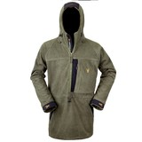 Hunters Element The Bushman Half Zip Coat Forest Green