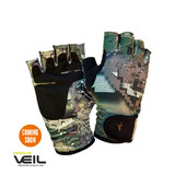 Hunters Element Hydrapel Hunting Gloves Fingerless Veil Camo