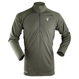 Hunters Element Prime Summer Long Sleeve Zip Hunting Top Frost Green