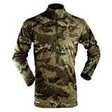 Hunters Element Prime Summer Long Sleeve Zip Hunting Tee Veil Camo