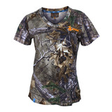 Spika Womens Trail Hunting Tee Camo