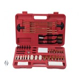 OUTERS UNIVERSAL CLEANING KIT 62 PIECE IN PLASTIC CASE