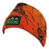 Ridgeline Double Layer Fleece Beanie Blaze Orange Camo
