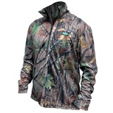 Ridgeline Pro Hunt Air Tech Long Sleeve Zip Hunting Top Nature Green
