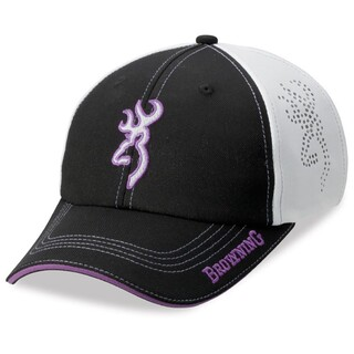 Browning Chelsie Cap Black & Purple
