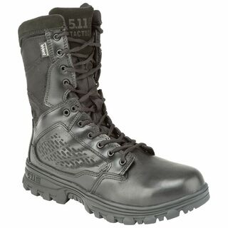 5.11 EVO 8 Inch Waterproof Boot with Side Zip Black