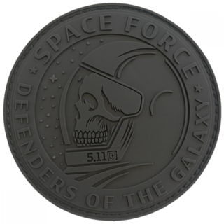5.11 Green Space Force FTG Patch