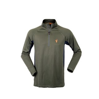 Hunters Element Eclipse Summer Hunting Top Forest Green