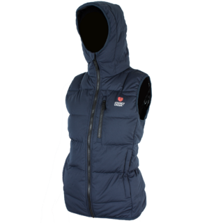 Stoney Creek Womens Thermolite Hooded Vest Blue
