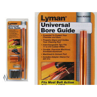 Lyman Universal Bore Guide Fits Most Bolt Action Rifles