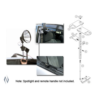 Lightforce Support a Light Spotlight Mounting System