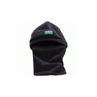 Ridgeline Double Layer Fleece Bleanie Beanie Balaclava Neck Warmer Black