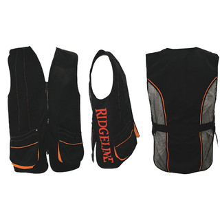 Ridgeline Clay Buster Shooting Vest Black